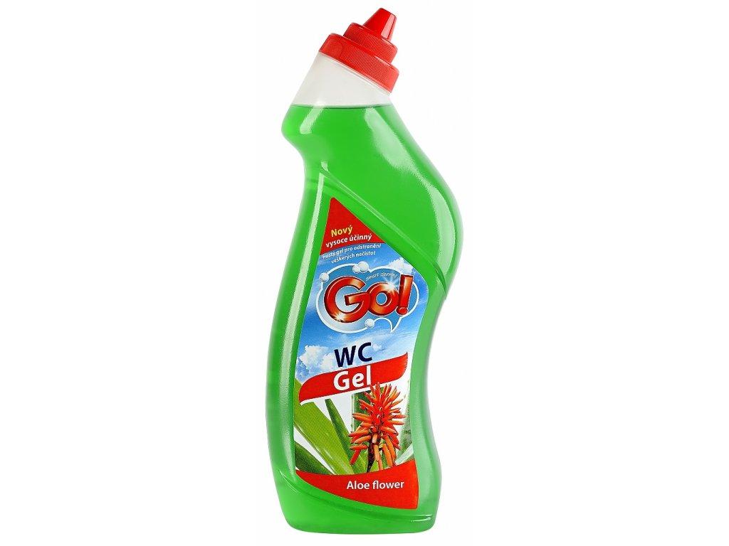 Wc gel zelený