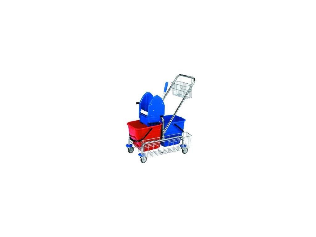 úklid vozík 2kbelík