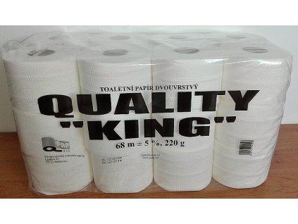QUALITY KING toaletní papír 68m 2-V celuloza