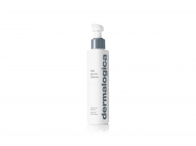 E comm Daily Glycolic Cleanser 5oz Front