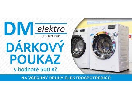 darkovy poukaz dm elektro
