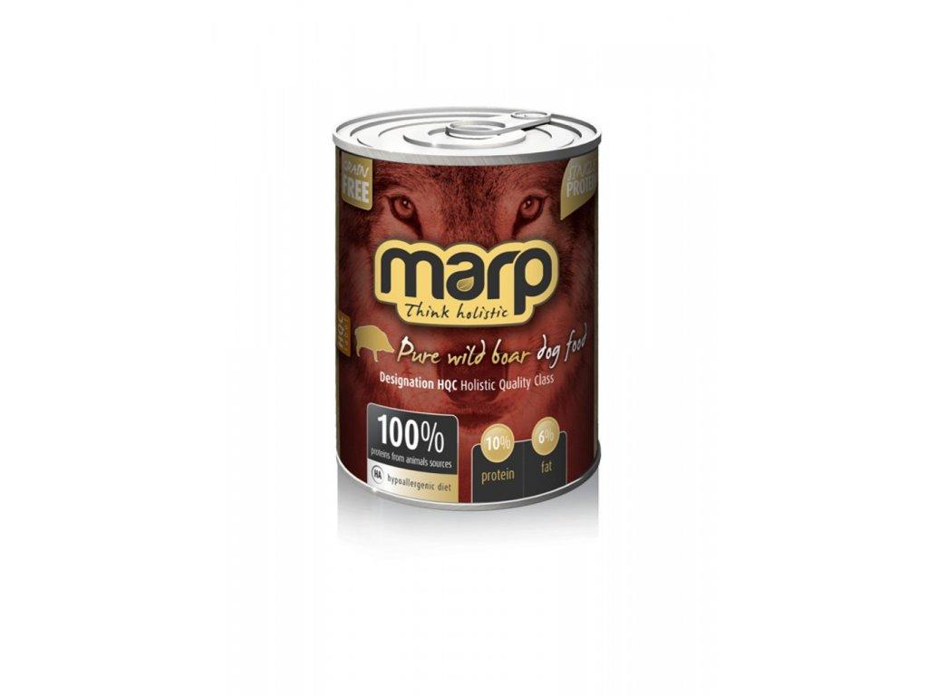 Marp Wild Boar konzerva pro psy s divočákem 400g