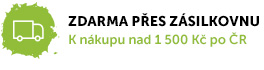 Doprava zdarma po ČR k nákupu nad 990 Kč