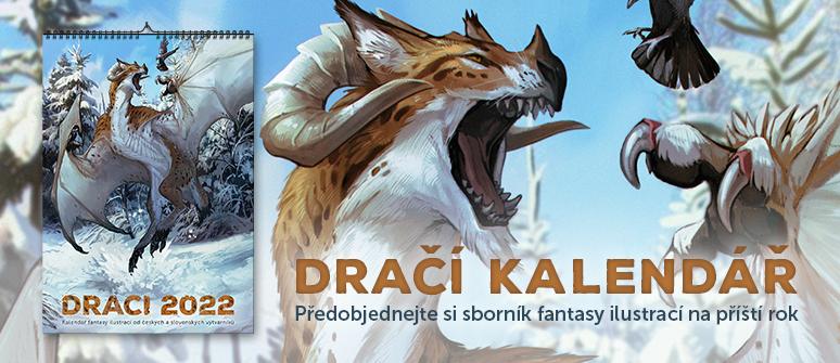 Předobjednejte si sborník fantasy ilustrací na příští rok