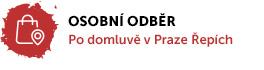Možnost osobního odběru po domluvě v Praze Řepích