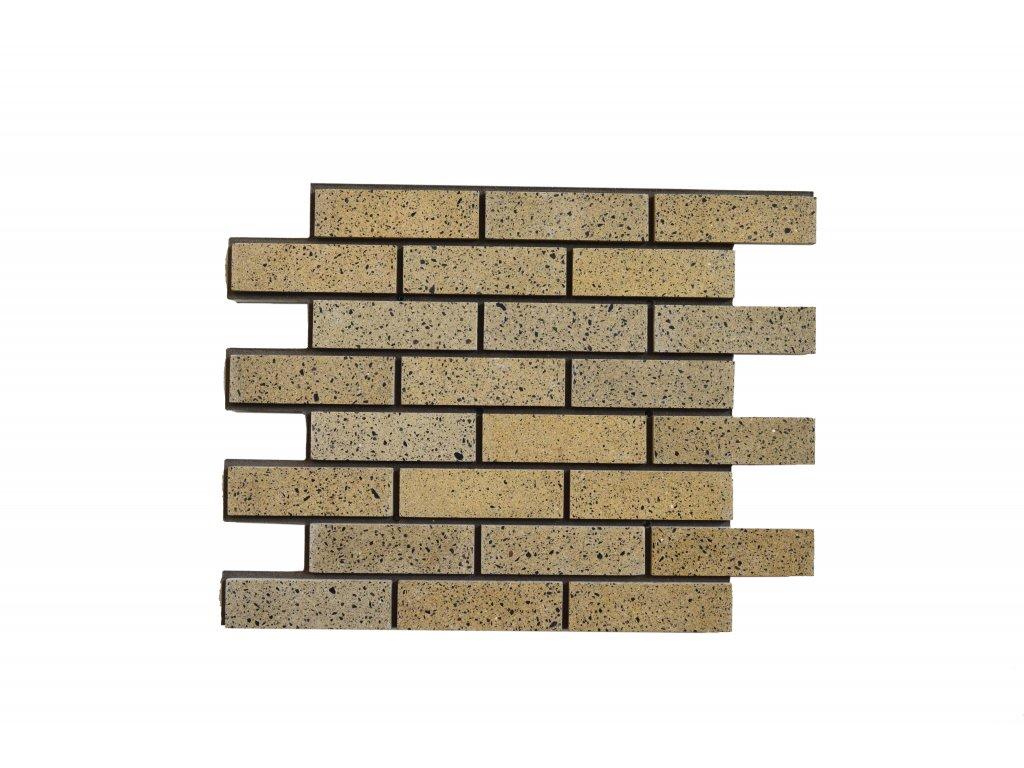 Betonový obklad Pískový Granit MIX - Leštěný | Termopanel | 873 x 655 x 51 mm | Plocha 0,5m2  | cena za m2