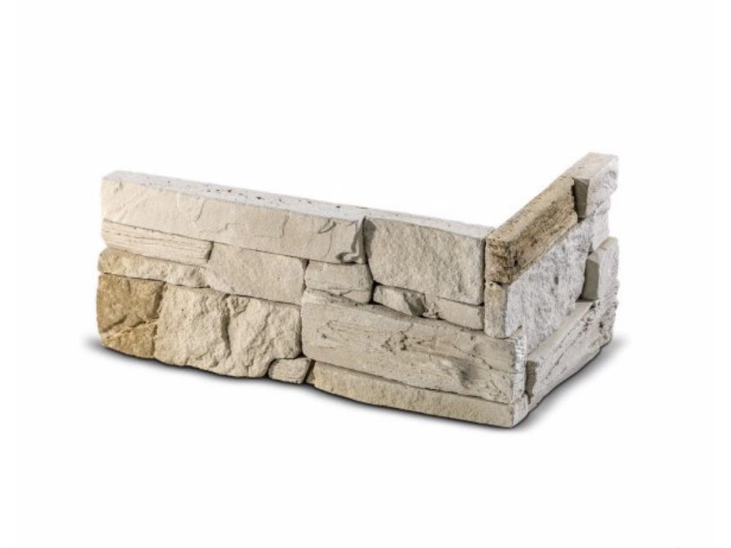 ROH Obkladový kámen MANUS béžová 32,0 x 15,0 x 14,5 x 3,5 cm  | cena za bm