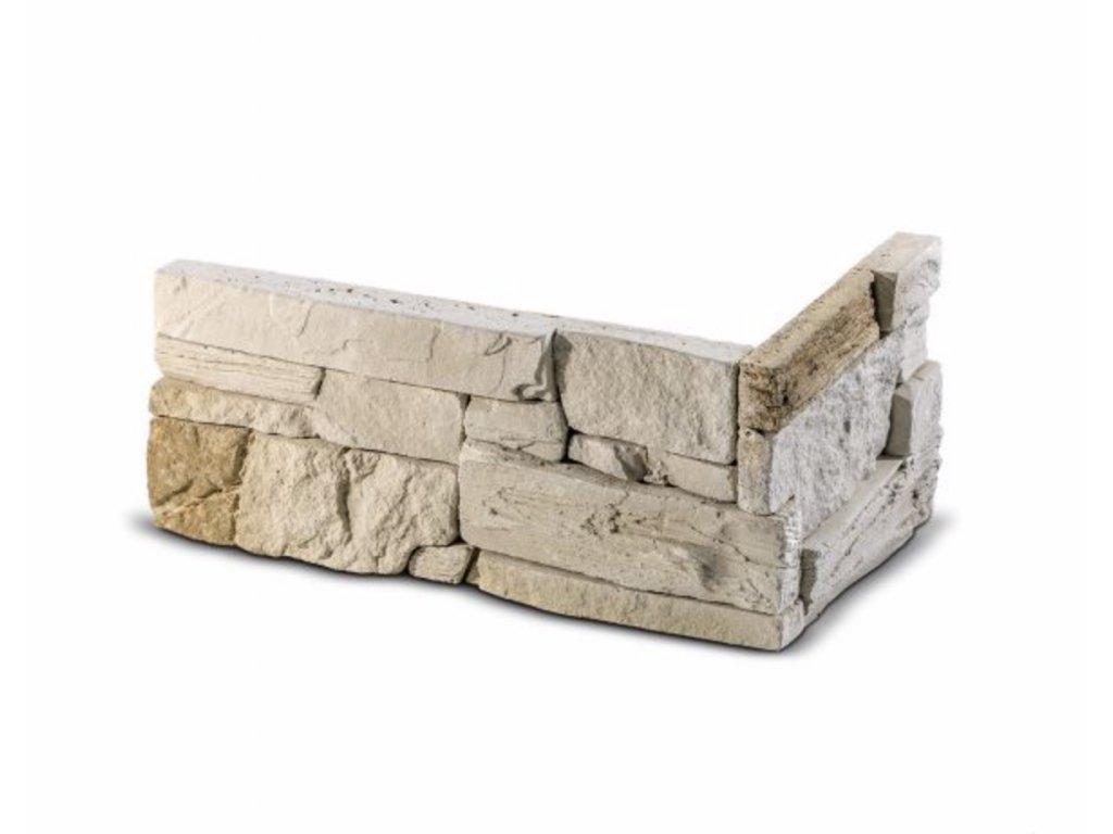 ROH Obkladový kámen MANUS béžová 32,0 x 15,0 x 14,5 x 3,5 cm  | cena za balení