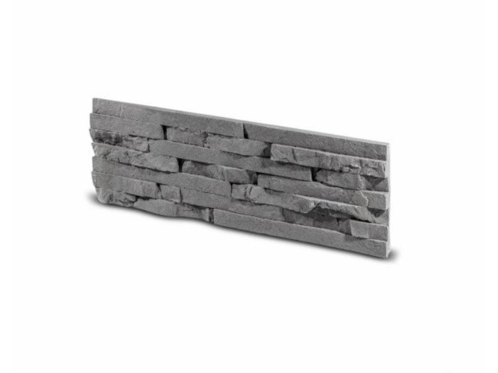 Obkladový kámen TEPIC grafit 49,5 x 14,5 cm  | cena za balení
