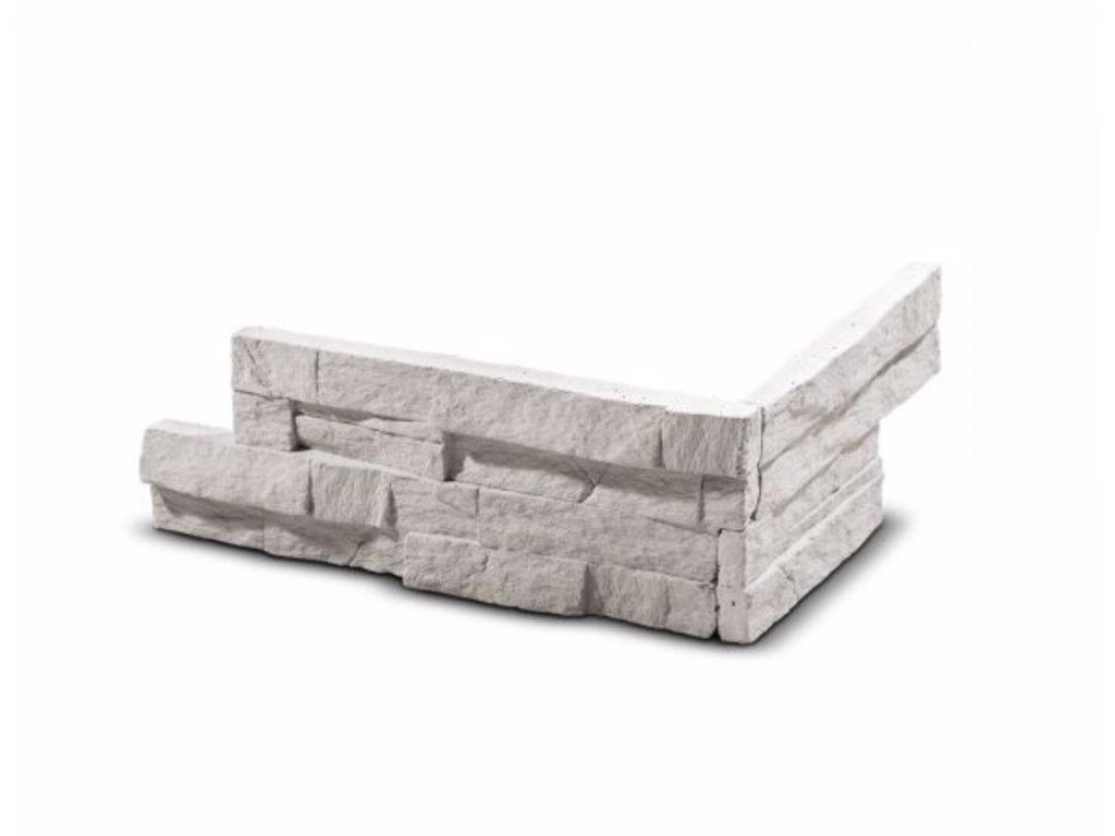 ROH Obkladový kámen VERTIGO krémová 28,5 x 15,5 x 10,0 x 2,5 cm  | cena za balení