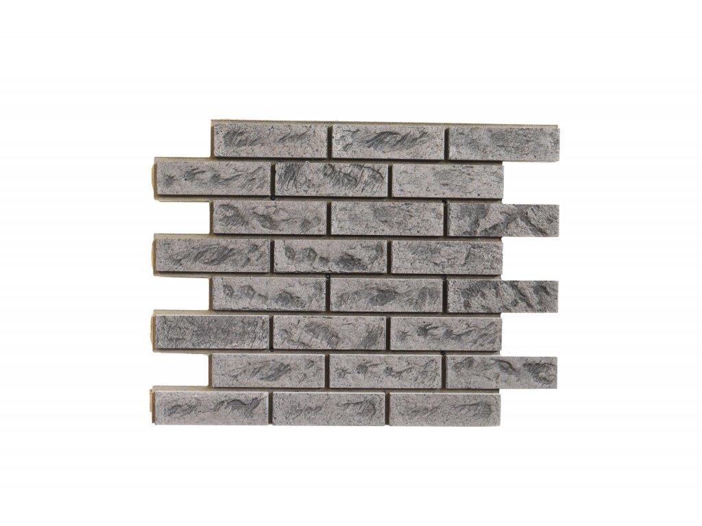 Betonový obklad Starý Kámen Čokoláda  T61   Termopanel   873 x 655 x 51 mm   Plocha 0,5m2    cena za m2