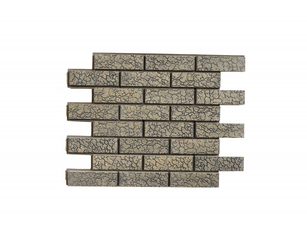 Betonový obklad Pískový Granit - Želva | Termopanel | 873 x 655 x 51 mm | Plocha 0,5m2  | cena za m2