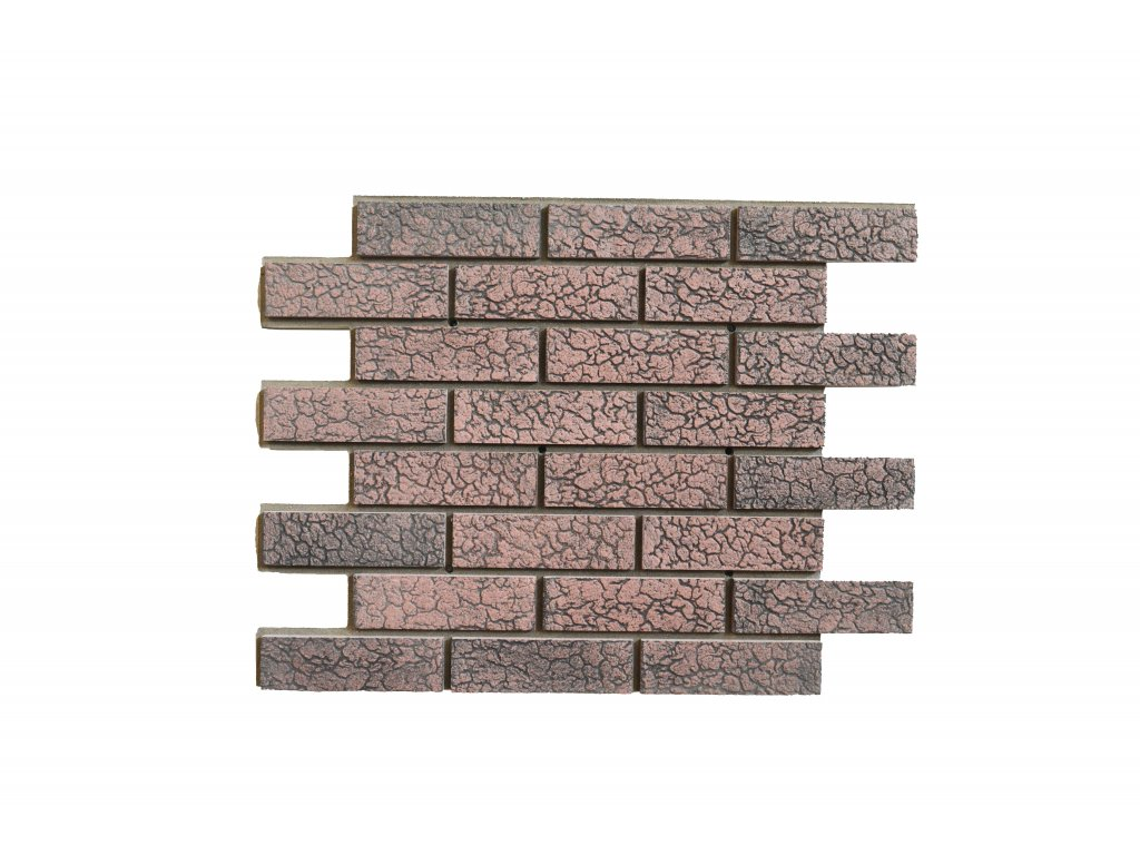 Betonový obklad Starý Kámen | Korál - Želva T51 | Termopanel | 873 x 655 x 51 mm | Plocha 0,5m2  | cena za m2