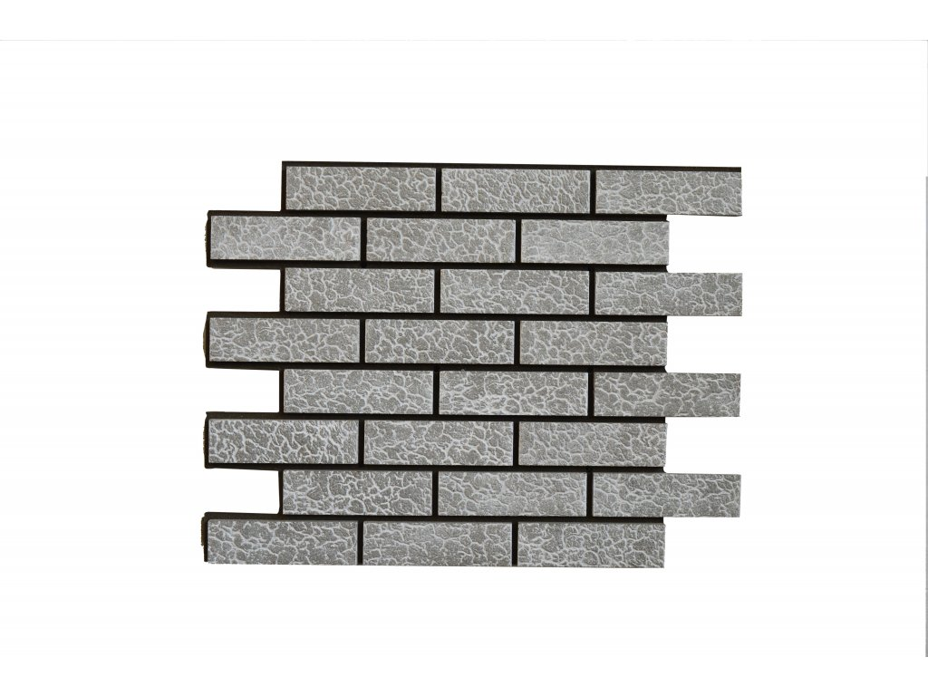 Betonový obklad Želva Granit T32 | Termopanel | 873 x 655 x 51 mm | Plocha 0,5m2