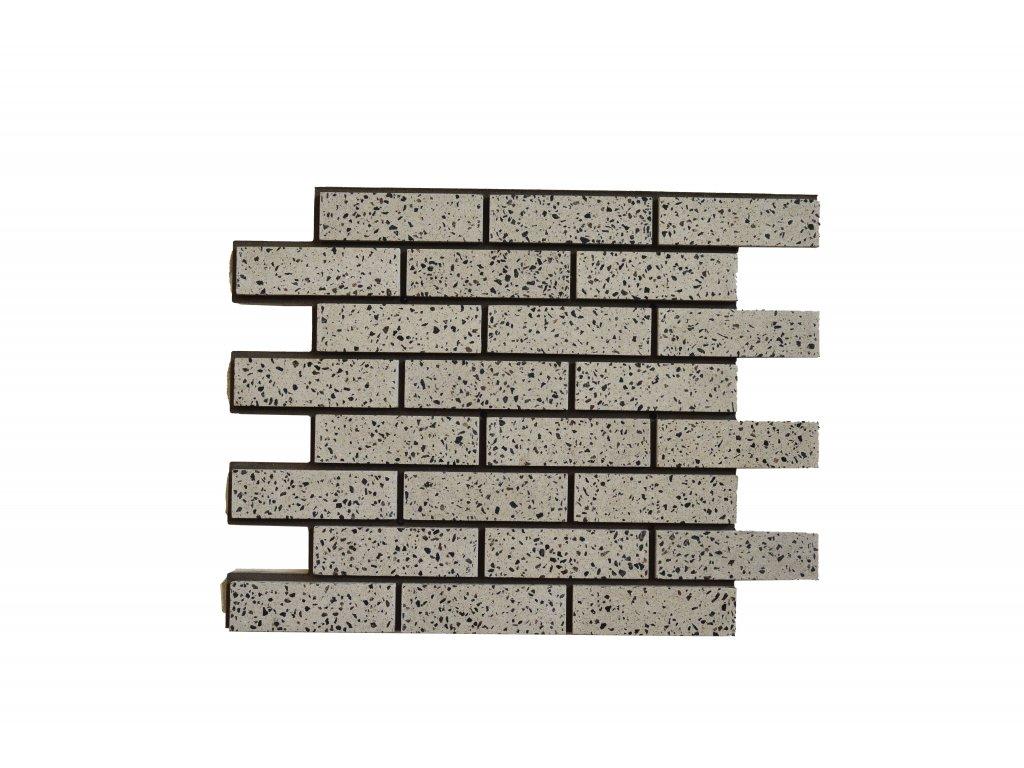 Termopanel Granit MIX - Leštěný   Betonový obklad   PUR pěna   Plocha 0,5m2
