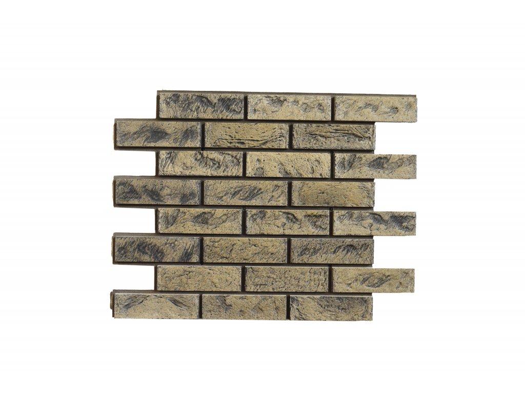 Betonový obklad Starý Kámen Pískový Granit T41   Termopanel   873 x 655 x 51 mm   Plocha 0,5m2    cena za m2