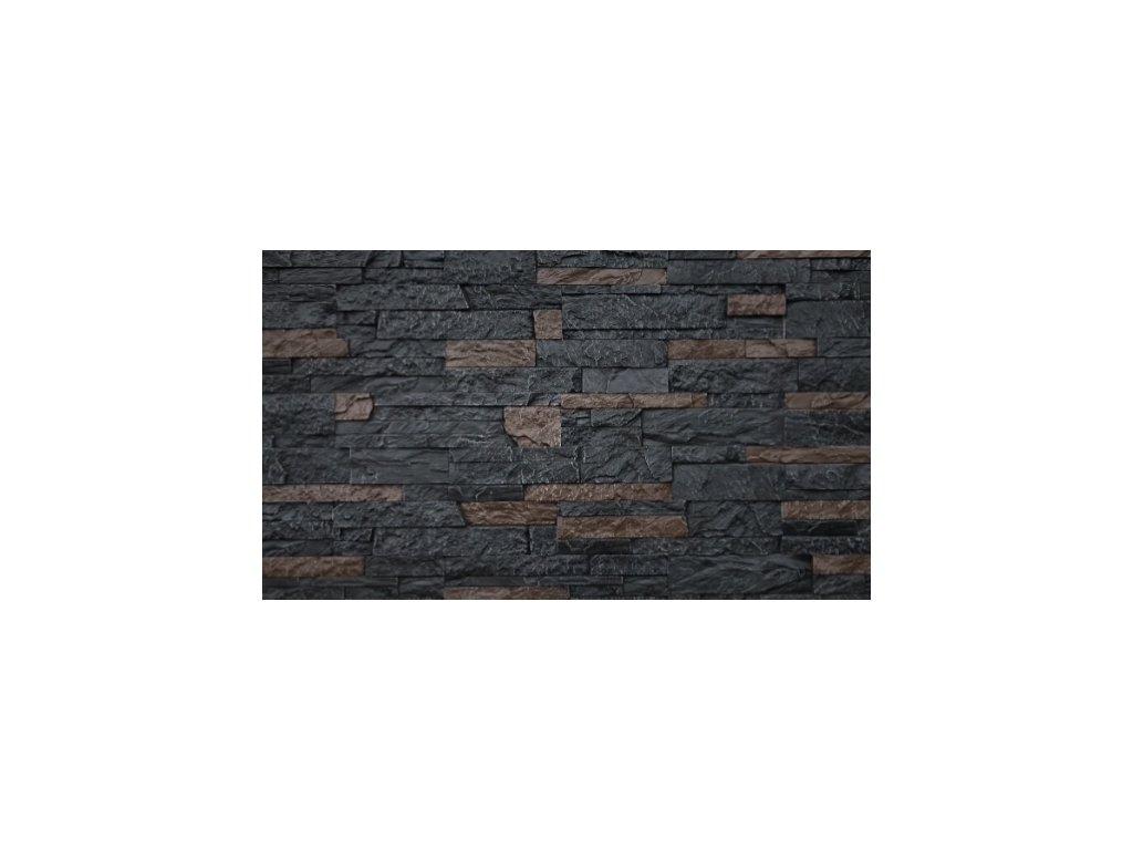 Kamenný obklad lámaný mramor KLERMON 2804 39,5 x 9 cm    cena za balení