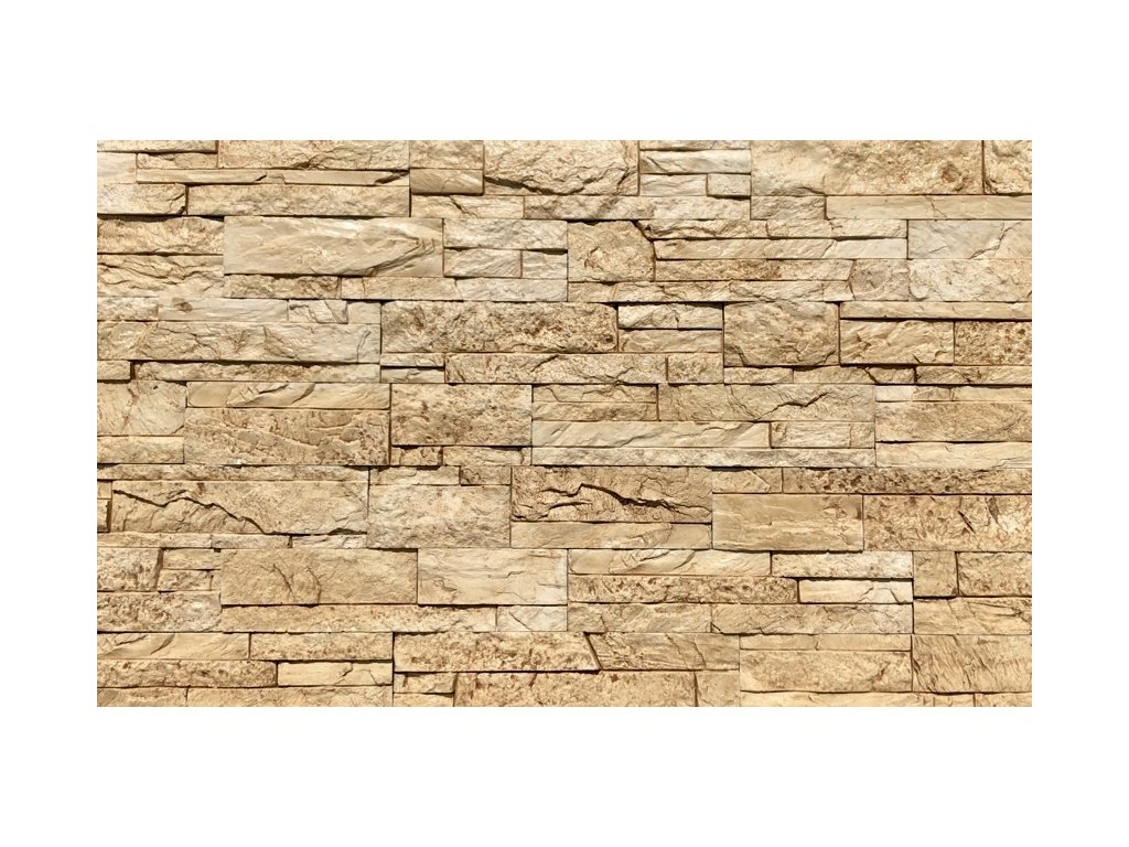Kamenný obklad lámaný mramor ARIZONA 2801 39,5 x 9 cm  | cena za m2