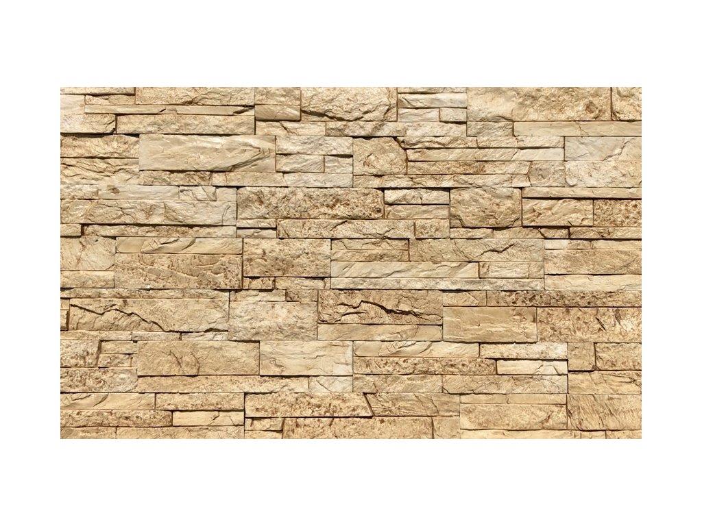 Kamenný obklad lámaný mramor ARIZONA 2801 39,5 x 9 cm  | cena za balení
