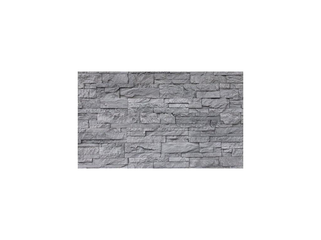 Kamenný obklad lámaný mramor KLERMON 2801 39,5 x 9 cm  | cena za balení