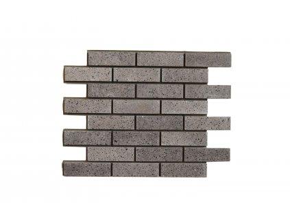 Betonový obklad Čokoláda MIX - Leštěný | Termopanel | 873 x 655 x 51 mm | Plocha 0,5m2  | cena za m2