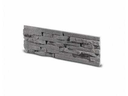 Obkladový kámen TEPIC grafit 49,5 x 14,5 cm    cena za balení