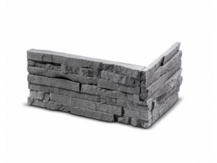 ROH Obkladový kámen TEPIC grafit 33,0 x 14,5 x 14,5 x 2,5 cm  | cena za balení