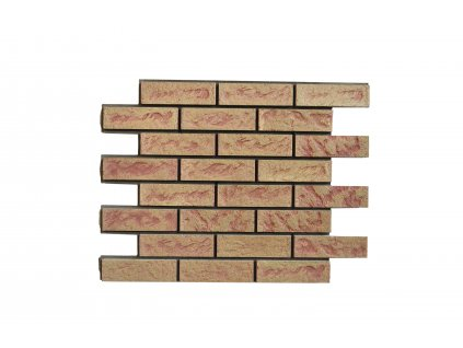 Betonový obklad Starý Kámen Broskev | Termopanel | 873 x 655 x 51 mm | Plocha 0,5m2  | cena za m2