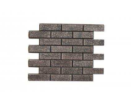 Termopanel Čokoláda - Želva T61 | Betonový obklad | PUR pěna | Plocha 0,5m2  | cena za m2