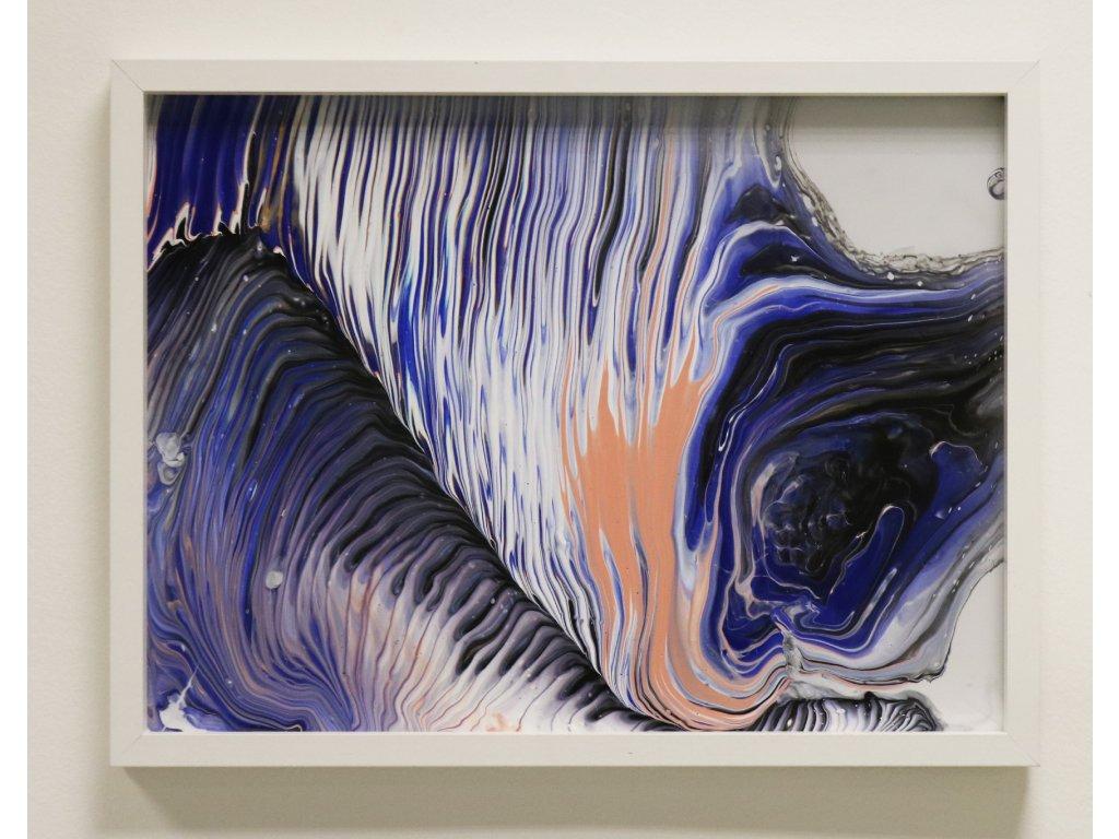 Abstraktní obraz Storming