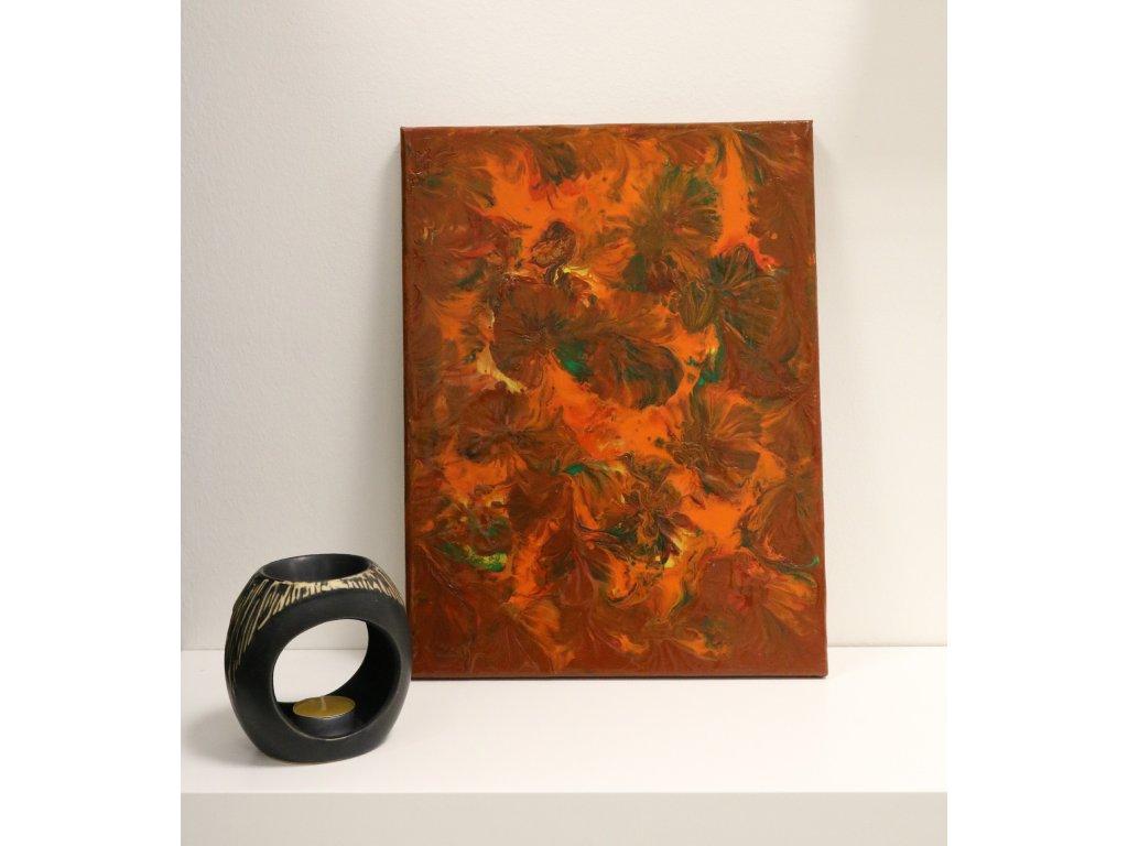 Abstraktní obraz Podzim
