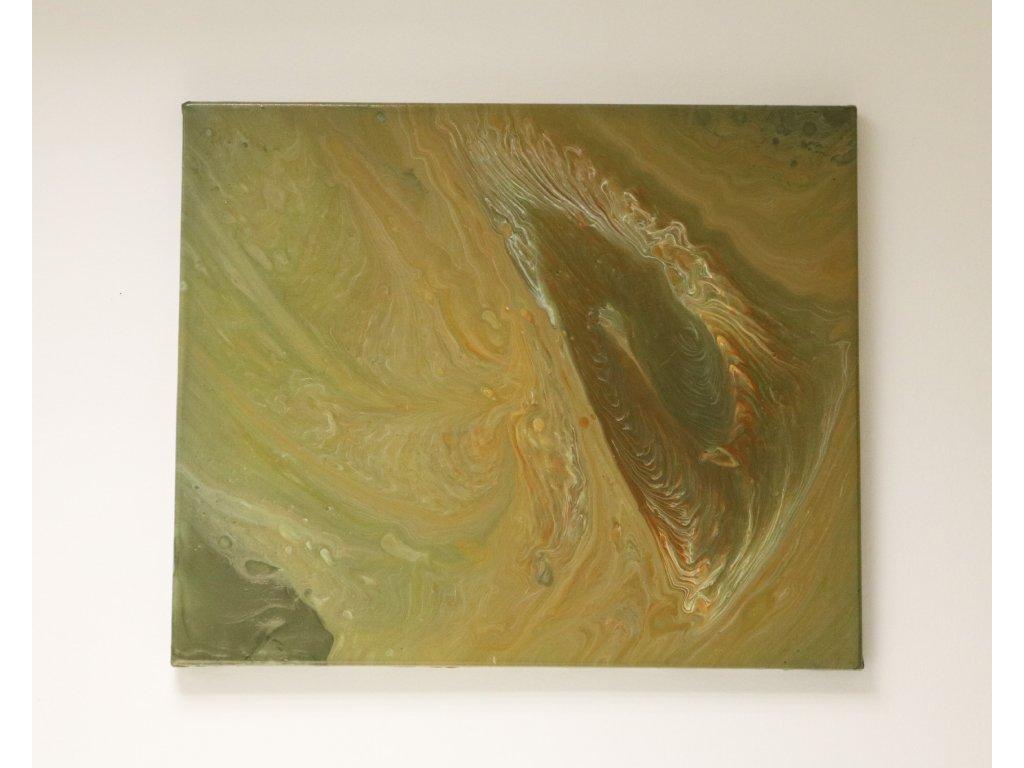 Abstraktní obraz Achát