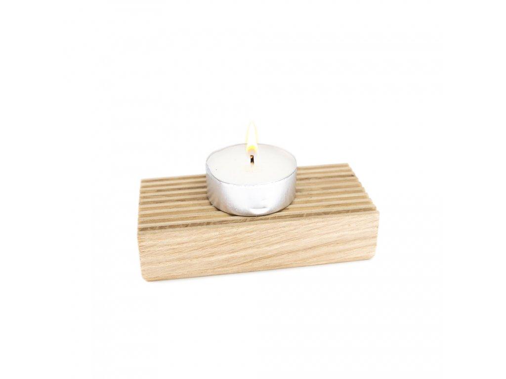 Podložka pod svíčky – Dub