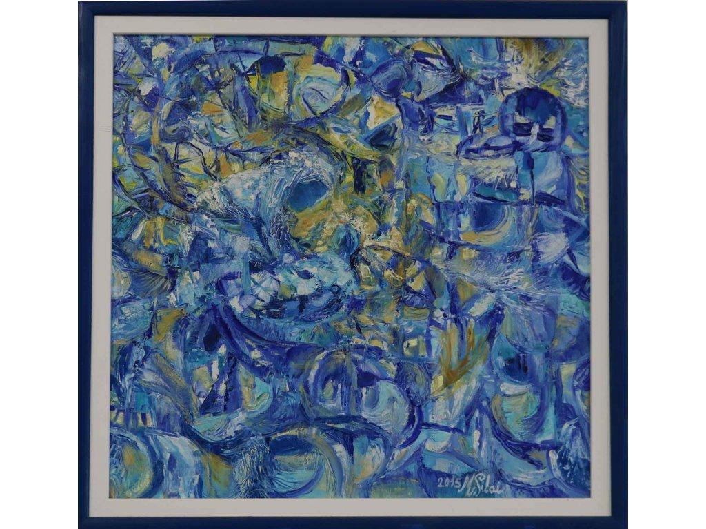 Modrá Madona