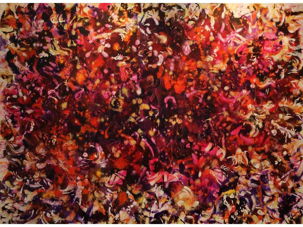 Motýlí tanec90x120cm32500kč