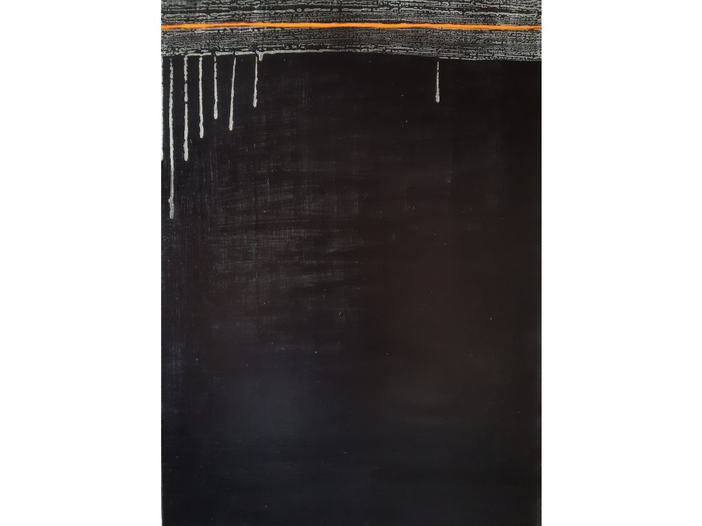2Hranice 70x50 16.000, akryl diptych