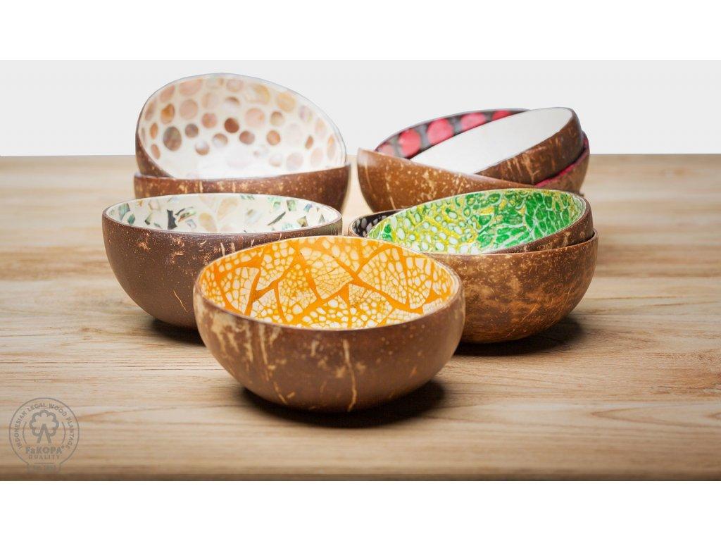 8297 coco miska z kokosu
