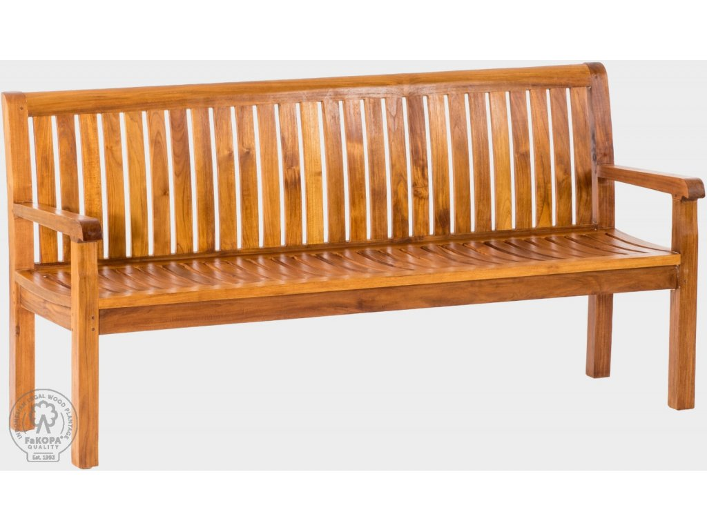 9053 pietro 180 lavice z teaku