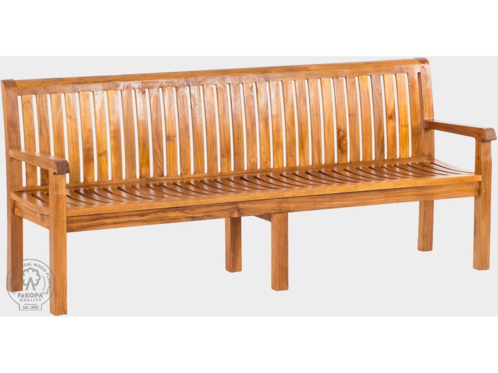 9056 pietro 210 lavice z teaku