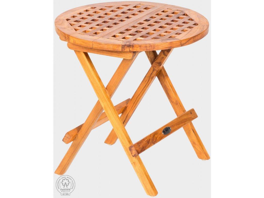 9479 picnic stolek skladaci z teaku