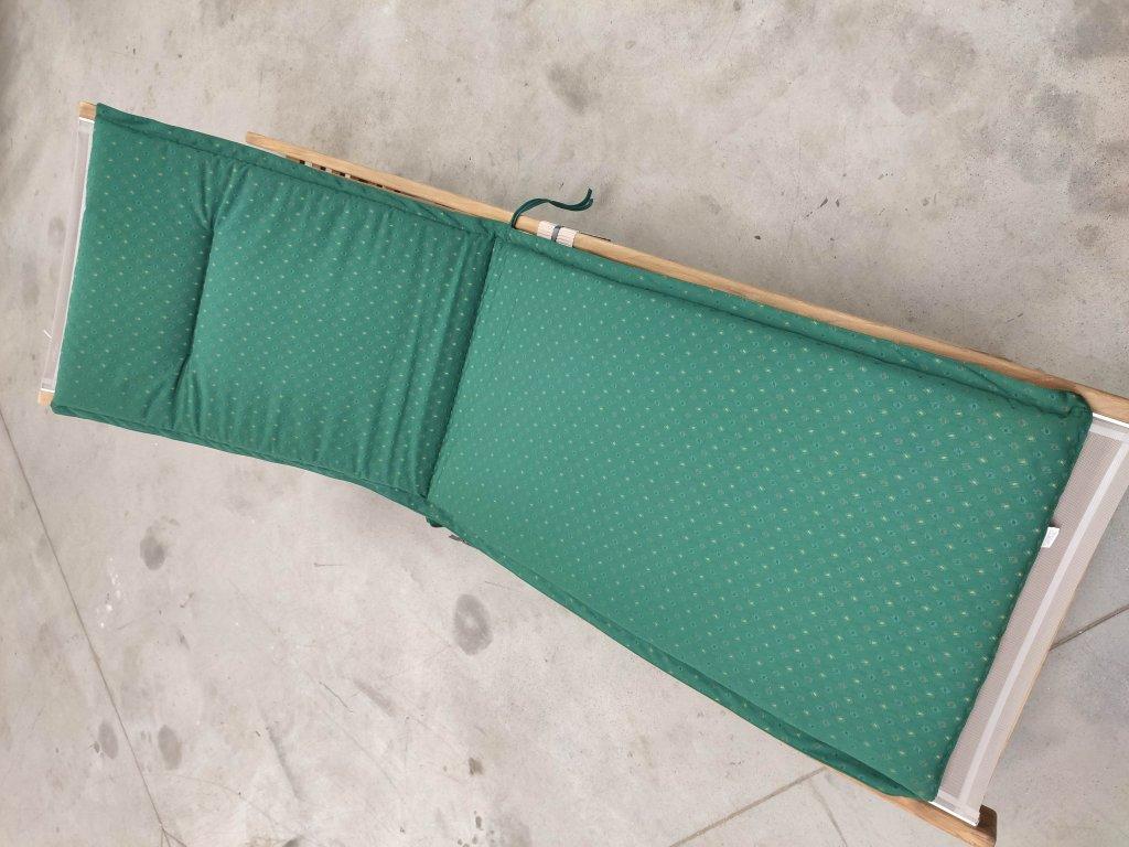 9902 karlas valentino polstr na lehatko zeleny