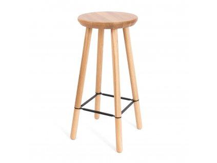 Barová stolička Dub