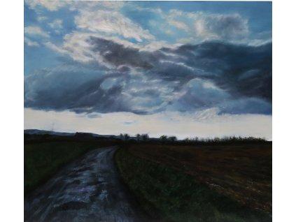 2561 cesta pod mraky