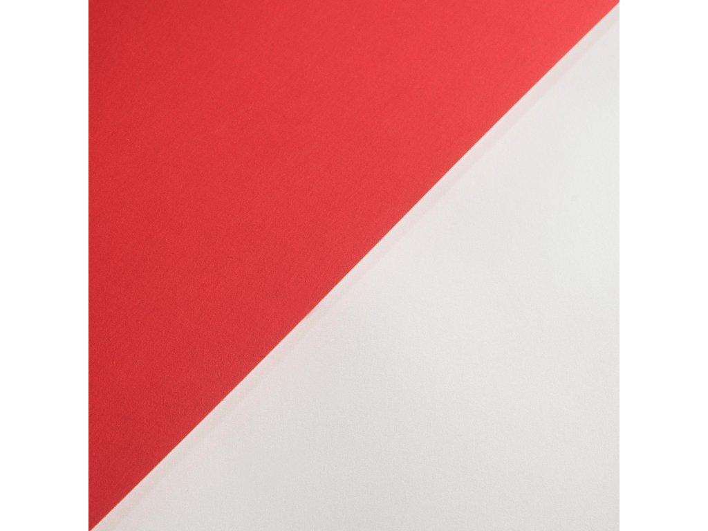 Plike Red, 330 g, 72 x 102, červený pogumovaný