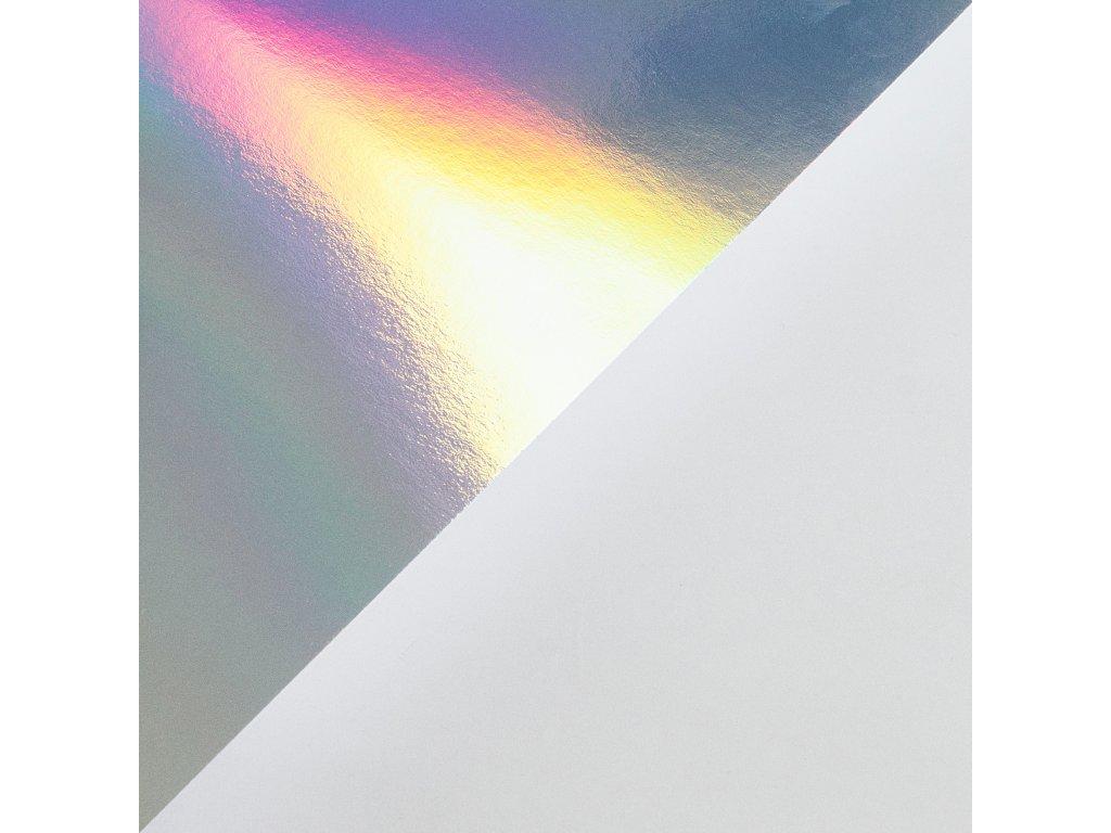 Holografický papír, 300 g, 70 x 100, jednostranný