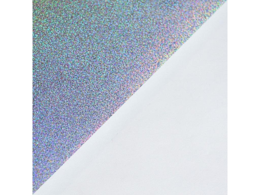Samolepka holografická, A4, hvězdný prach