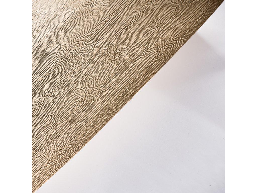 Gmund Wood Solid, 300 g, 70 x 100, ražba dřeva, tindalo – světle hnědá