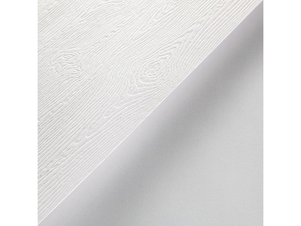 Gmund Wood Solid, 300 g, B1, ražba dřeva, bílá, hnědá, šedá