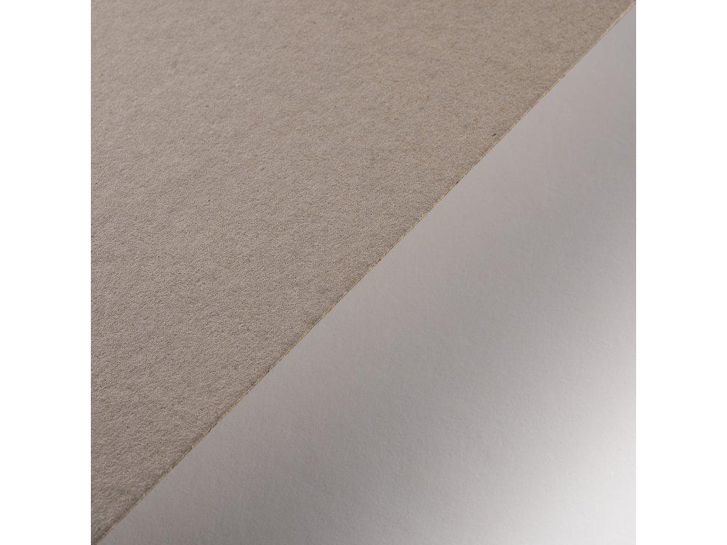 Lepenka, 2,5 mm, B1, strojní šedá