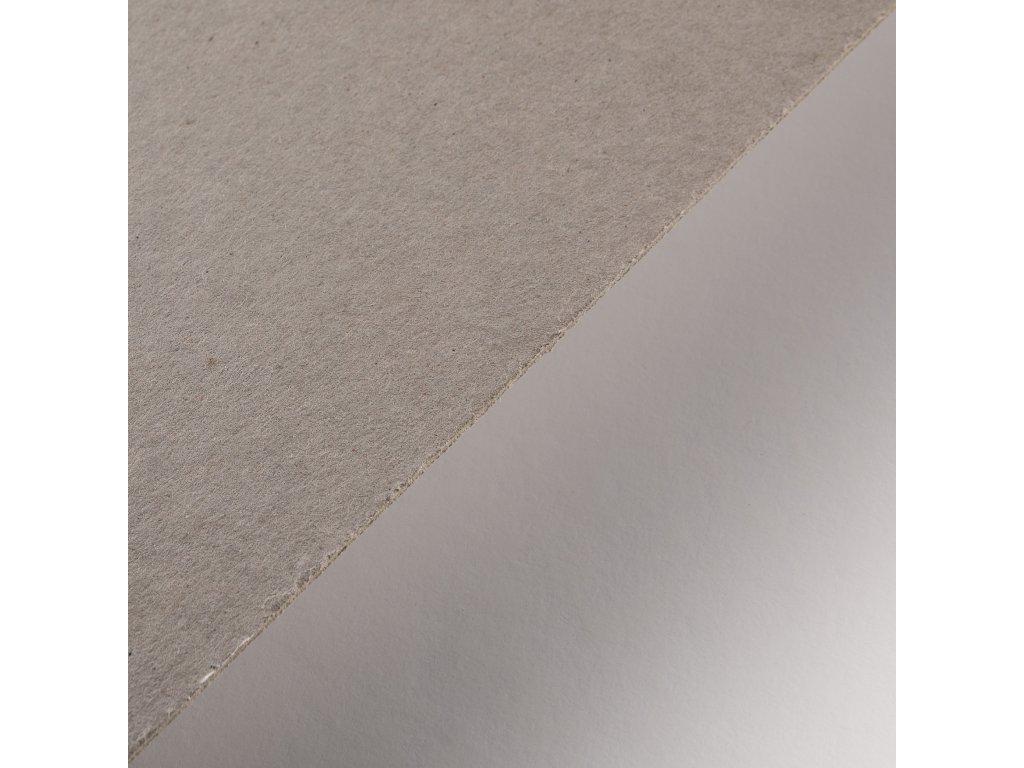 Lepenka, 3.0 mm, B1, strojní šedá